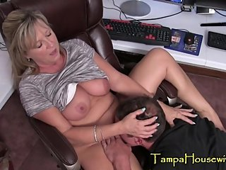 This Taboo Mommy Fucks Her Stepson Everywhere
