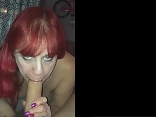 the redhead amateur wife