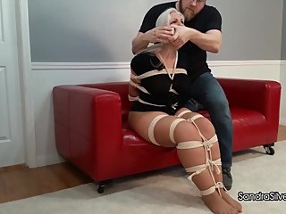 2316 Buxom MILF Roommates, Massively Bound & Gagged, Attempt Escape!